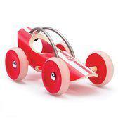 Hape Houten speelvoertuig Monza Racer Rood