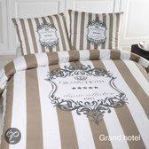 Papillon Grand Hotel dekbedovertrek - Beige - 1-persoons (140x200/220 cm + 1 sloop)