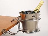 Voccelli Tafelklem voor Champagne- en/ of Wijnkoeler - Chroom