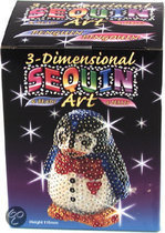 Sequins 3d Pinguin