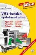 Computer idee VHS-banden op dvd en cd zetten