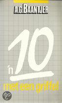 'n 10 met een griffel