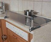 A-plast - Kookplaat bescherming 1 stuk - Zilver
