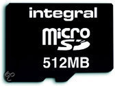 Integral Micro SD Card 512 MB