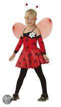Superluxe Lieveheersbeestje - Kostuum - 4-6 jaar