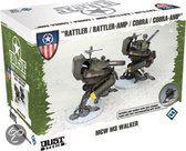 Dust Tactics - Allies MCW M2 Tank - Bordspel