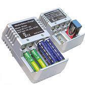 Garant-o-matic alkaline batterijlader voor AA / AAA / 9v batterijen