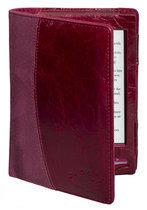Gecko Covers Luxe Lederen Beschermhoes voor Sony Reader (PRS-T1) - Bordeaux Rood