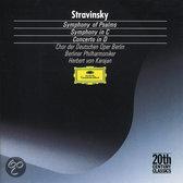 Stravinsky: Symphony of Psalms, Symphony in C, Concerto in D