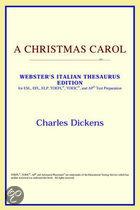 A Christmas Carol (Webster's Italian The