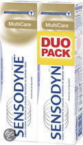 Sensodyne Multicare - 2x 75 ml - Tandpasta
