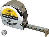 Stanley Rolbandmaat Powerlock Roestvrij 5m x 19mm