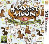 Harvest Moon 3D: A New Beginning - 2DS + 3DS