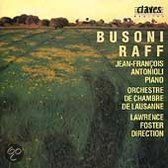 Busoni Raff Works for Piano and Orchestra Antonioli