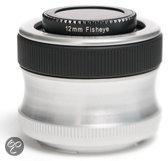 Lensbaby Scout + Fisheye Optik Olympus 4/3