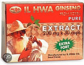 IL Hwa Ginseng Extract 200 mg - 30 capsules - Voedingssupplement