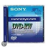DVD -RW 8CM 30 MN X1 NEW DESIGN