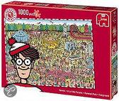 Jumbo puzzel Waar is Wally? Kermis 1000 stukjes