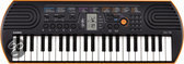 Casio Keyboard SA-76 - Oranje