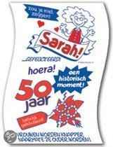 Sarah 50 Jaar Spreuken