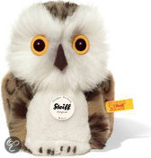 Uil Knuffel - Wit 12 cm