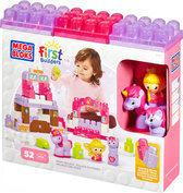 Mega Bloks First Builders Lil' Princess Pretty Pony Palace - Constructiespeelgoed