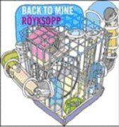 Back To Mine -Royksopp