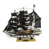 Piraten decoratie boot 24 cm