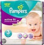 Pampers Baby luier Active Fit maat 3 - 144 stuks