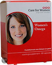 Care for Women Omega 3 -  60 capsules - Visolie - Voedingssupplement