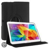 Samsung Galaxy Tab 4 10.1 Inch Hoes Cover 360 graden draaibare Case Zwart