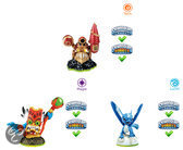Skylanders Spyro's Adventure: Triple Pack Double Trouble, Whirwind, Drill Sergeant