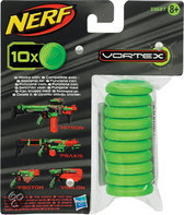 NERF Vortex Ammo Refill - 10 Schijfjes