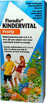 Floradix Kindervital Fruity - 250 ml - Multivitamine