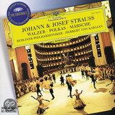 J. Strauss: Waltzes, Polkas, Marches / Karajan, Berlin PO