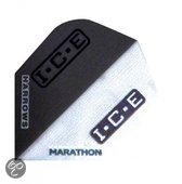 Harrows darts Flight 1510 marathon black ice