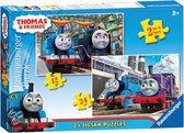 Ravensburger 2 in 1 Puzzel - Thomas en zijn Vriendjes