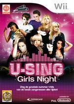 U-Sing -Girls Night + 2  Microfoons
