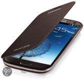 Flip Cover voor de Samsung Galaxy S3 (Galaxy i9300) (amber brown) (EFC-1G6FAEC)
