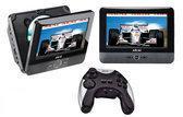 Akai ACVDS736A - Portable DVD-speler met spelletjes en 2 schermen - 7 inch