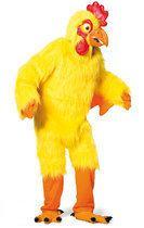 Haan kostuum luxe met masker hanenpak