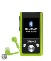 Difrnce MP1811 - Bluetooth MP4 -speler - 4 GB - Lime