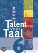 Nieuw talent voor taal aso 6 - leerboek