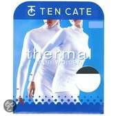 Thermo ondergoed shirt col S Wit