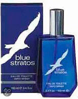 Blue Stratos Vaporiser for Men - 100 ml - Aftershave lotion
