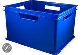 Cosy&Trendy Opbergbox - 43,5 X 35,5 X 20,5 cm - Stapelbaar - Blauw