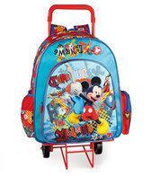 Mickey Mouse rugtas met trolley
