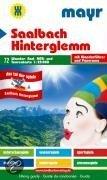 Saalbach-Hinterglemm 1 : 25 000