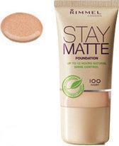 Rimmel London Stay Matte Foundation - Natural Beige 301