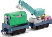 Chuggington Die-cast Trein Vuilnis & Recycling Wagonnen